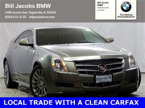 Pre-Owned 2011 Cadillac CTS Base RWD 2D Coupe
