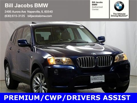 Certified Pre-Owned 2014 BMW X3 xDrive28i AWD