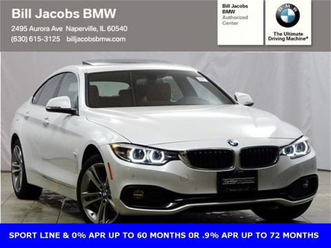 Certified Pre-Owned 2018 BMW 4 Series 430i Gran Coupe AWD