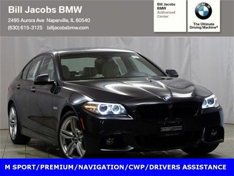 Certified Pre-Owned 2015 BMW 5 Series 535i xDrive AWD
