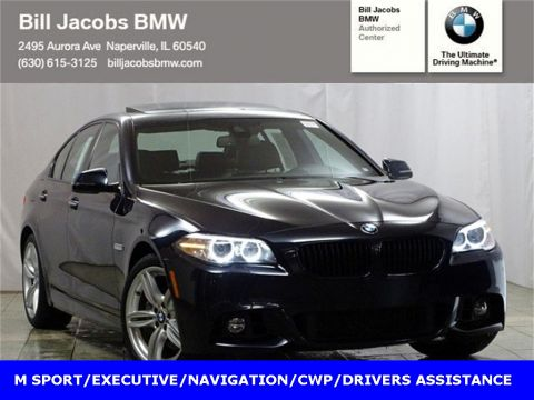 Certified Pre-Owned 2015 BMW 5 Series 550i xDrive AWD