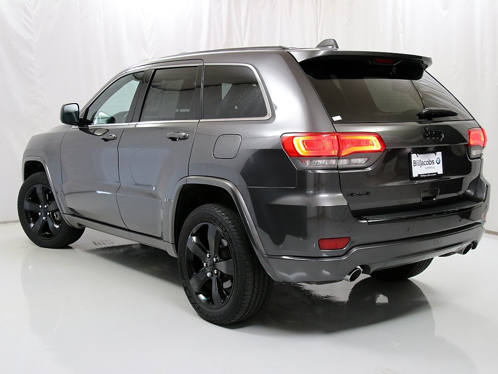 cherokee jeep grand altitude 4wd owned pre utility 4d sport