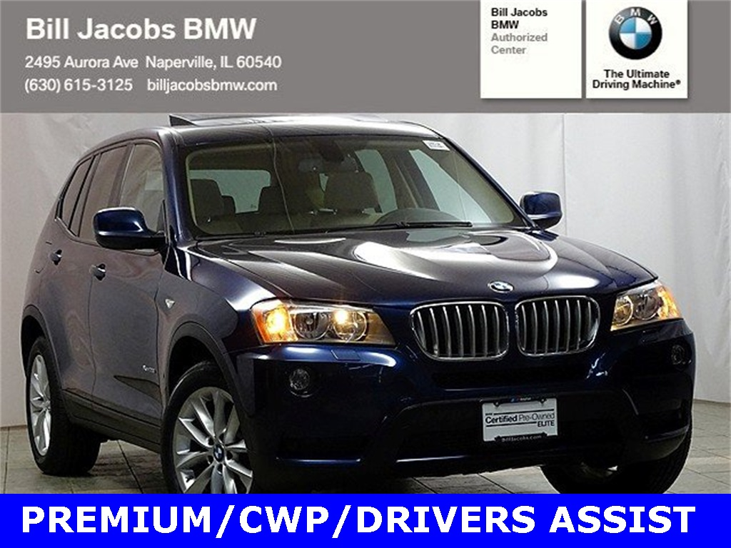 Certified Pre-Owned 2014 BMW X3 xDrive28i