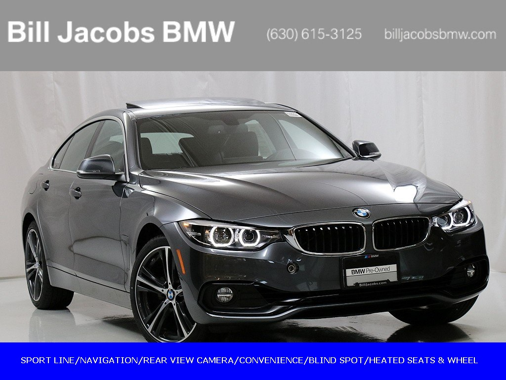 Courtesy Vehicle 2019 Bmw 4 Series 430i Xdrive Gran Coupe Awd 4d Hatchback
