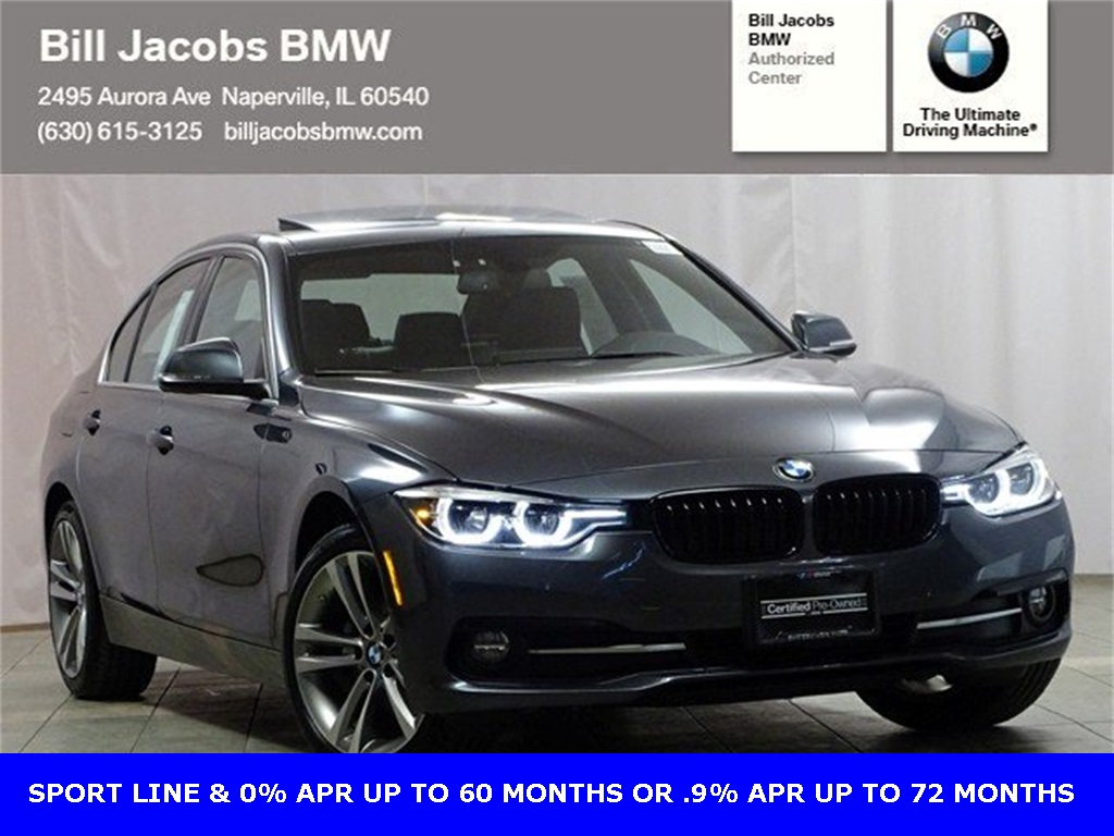 Certified Pre-Owned 2017 BMW 3 Series 328d xDrive