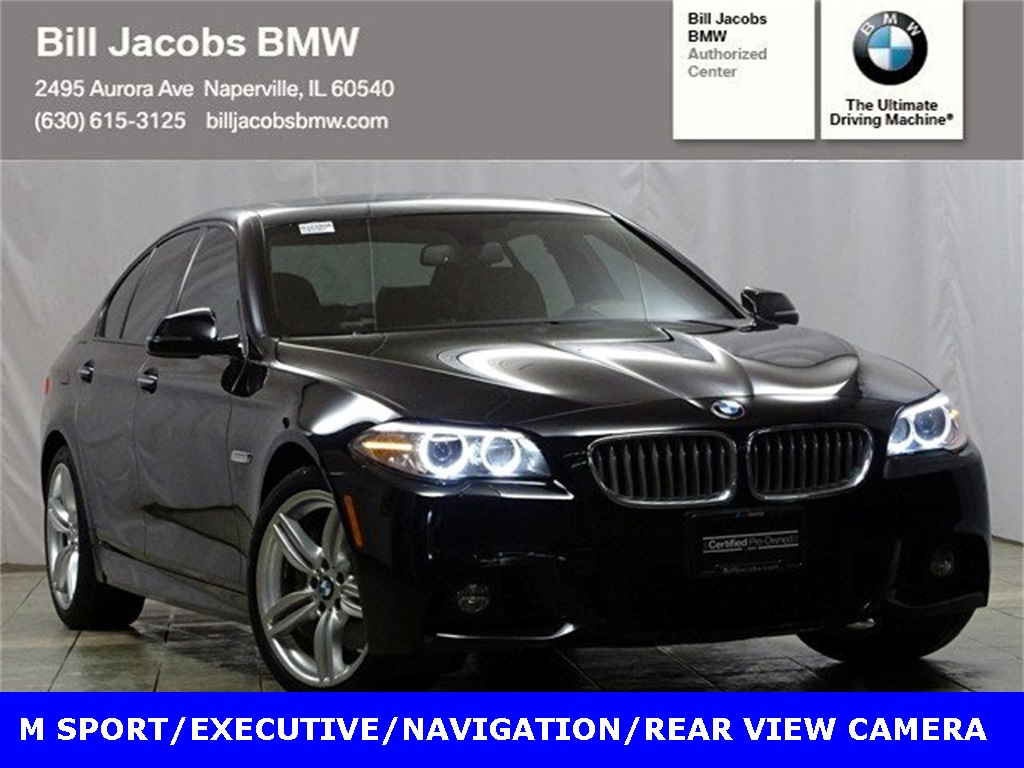 Certified Pre-Owned 2015 BMW 5 Series 550i xDrive