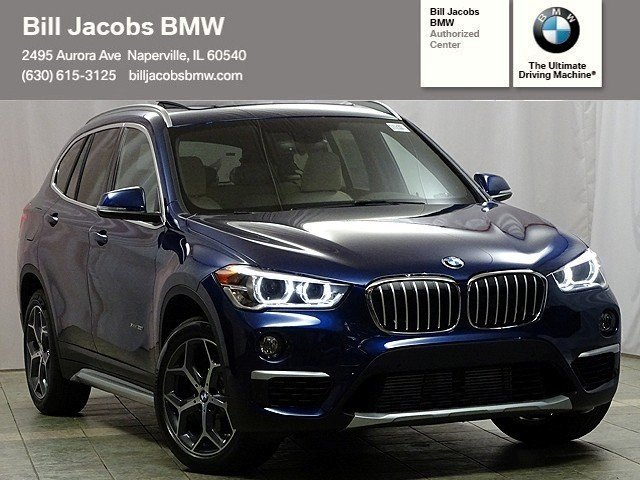 new 2017 bmw x1 xdrive28i sport utility in naperville b31285 bill jacobs bmw. Black Bedroom Furniture Sets. Home Design Ideas