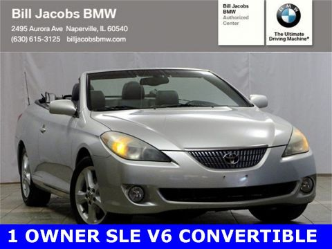 Pre-Owned 2004 Toyota Camry Solara SLE FWD 2D Convertible