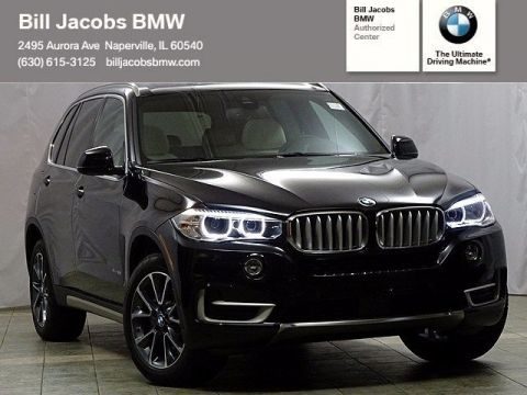 New 2018 BMW X5 xDrive35i With Navigation & AWD
