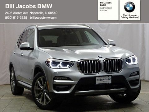 New 2018 BMW X3 xDrive30i With Navigation & AWD