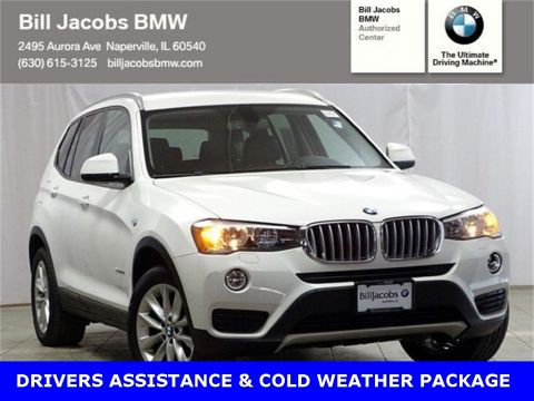 Pre-Owned 2015 BMW X3 xDrive28d AWD 4D Sport Utility