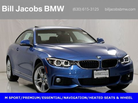Certified Pre-Owned 2018 BMW 4 Series 430i xDrive