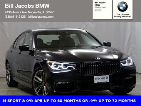 Courtesy Vehicle 2018 BMW 7 Series 750i xDrive With Navigation & AWD