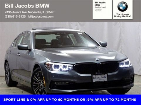 Courtesy Vehicle 2018 BMW 5 Series 530i xDrive With Navigation & AWD